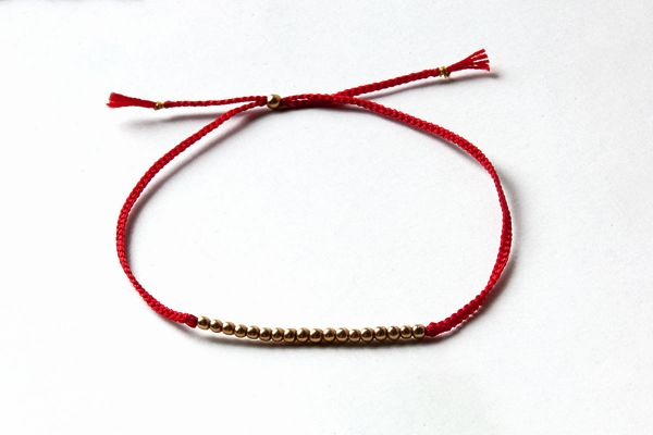 Bracelet Red Pearl
